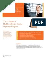 7 Habits Participants Guide Summary