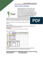 Microsoft Office Excel 2007 Fungsi Vlook