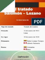 El Tratado Salomón – Lozano (Edwin Santos Mel)