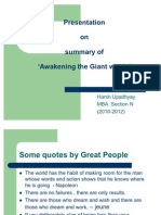 Presentation on Positive Thinking