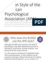 Topic 8_Citation Style of the American Psychological Association (APA) (1)