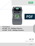 ALTAIR 5X - ALTAIR 5X IR Operating Manual - GB.pdf
