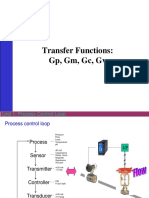 Process control lecturer's note for transfer function