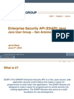 Enterprise Security API DOC
