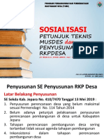 01 RKP Desa Kab. Jepara 2019.ppt