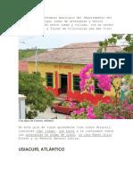 Usiacurí es un hermoso municipio del departamento del Atlántico.docx