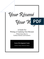 Your Resume Your Way