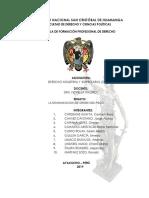 Ensayo del Pisco Peruano