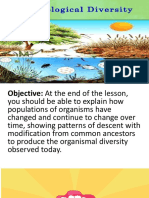 Lesson 9.2 Biological Diversity