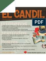 Publicidad Menu El Candil