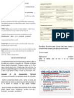 Organizadores y Operadores Textuales.