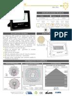 Ficha Tecnica Reflector Led 150w