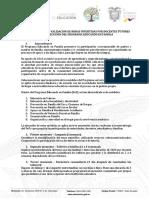 Lineamientos Para Recategorización Docentes PeF