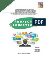 Proyecto Educativo en Aula