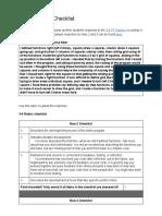 sara kaufman 3-6 rubric checklist