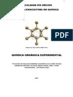 Apostila Orgânica Experimental