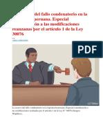 Jorge Pérez López - La reserva del fallo condenatorio en la legislación peruana.pdf