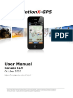 MotionX GPS Manual