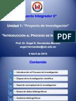 1. Proceso de Investigación I Angelhm
