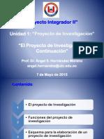 4.- El Proyecto de Investigacion-II