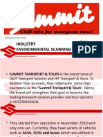 Summit Transport and Tours Industry Analysis