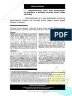 40.Jatropha Curcas L. (Euphorbiáceae) Como Novo Bioinseticida Análise Fitoquímica Preliminar e Atividade Larvicida Contra Aedes Aegypti (Diptera