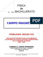 3.4 - CAMPO MAGNÉTICO - PROBLEMAS RESUELTOS DE ACCESO A LA UNIVERSIDAD