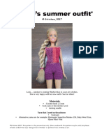 Barbie's Summer Outfit_US