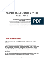Professional practice and ethics-unit 1-2 marks