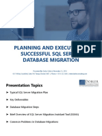Planning and Executing a Successful SQL Server Database Migration