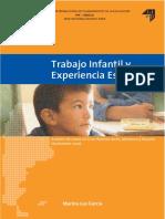 García 2006 - Trabajo Infantil y Experiencia Escolar
