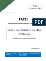 Guide de Rédaction Plan d'Affaire
