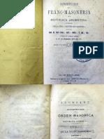 Constitución para la Franc-Masonería en la República Argentina