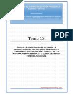 _Tema 13 - Los Funcionarios de La Administración de Justicia