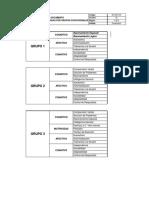 Competencias evaluadas por grupos ocupacionales