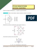 3A - PONTE DE WHEATSTONE - Exercícios resolvidos.pdf