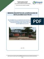 01 MEMORIA DESCRIPTIVA INSTALACIONES ELECTRICAS.docx