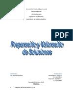 Informe I (Preparación y Valoración de Soluciones)