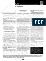 Effective Site Report Documentation