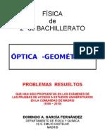 4.2 - ÓPTICA - PROBLEMAS RESUELTOS DE ACCESO A LA UNIVERSIDAD