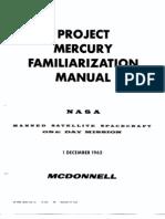 Project Mercury Familiarization Manual 20 Dec 1962