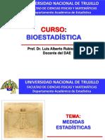 Clase Bioestadistica_medidas Estadisticas 2019