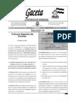GACETA 35053 - Normas Para La Gestión Del Sistema de Seguimiento de Recomendaciones de Auditoría (SISERA)