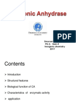 carbonic anhydrase-smaranika.ppt