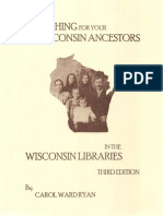 Searching for Your Wisconsin Ancestors