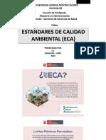 estandares de calidad ambiental