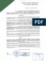 RA 430-2015 - Directiva de Viáticos