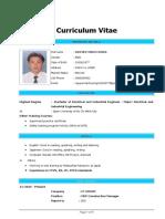 CV - Nguyen Minh Cuong