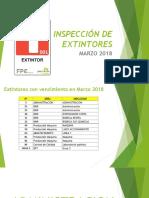 3- Inspeccion Extintores Marzo 2018