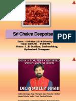 Sri Chakra Deepotsavam Participations